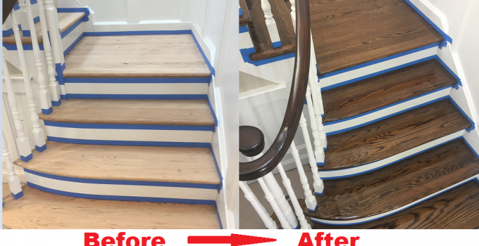 Long Island Wood Floor Sanding Before After